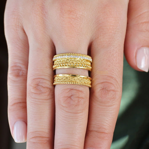 Granulation Stackable Ring
