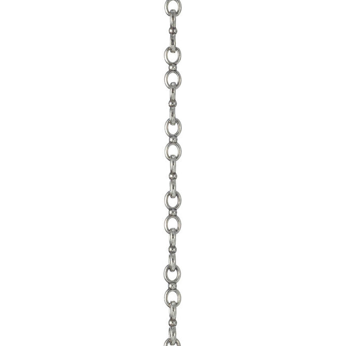 Sterling Silver Double Loop Chain