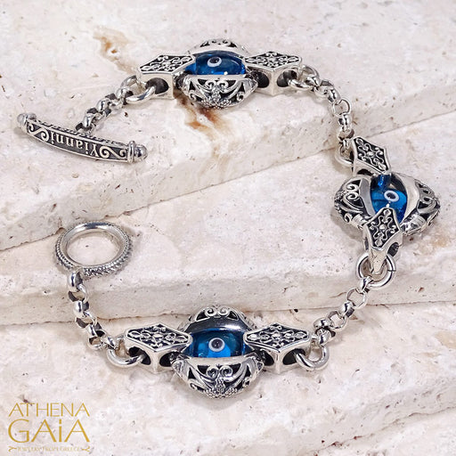 Triple Zelda Evil Eye Bracelet