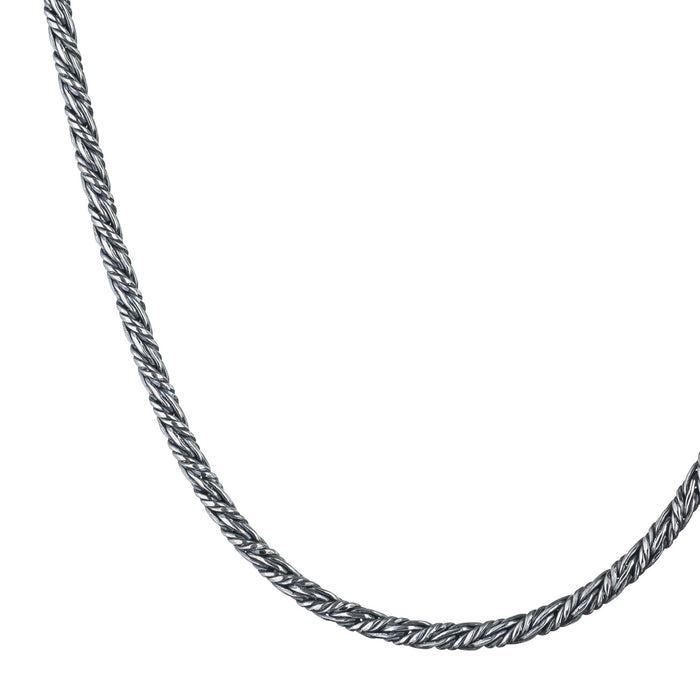Sterling Silver Rope Chain - Thick