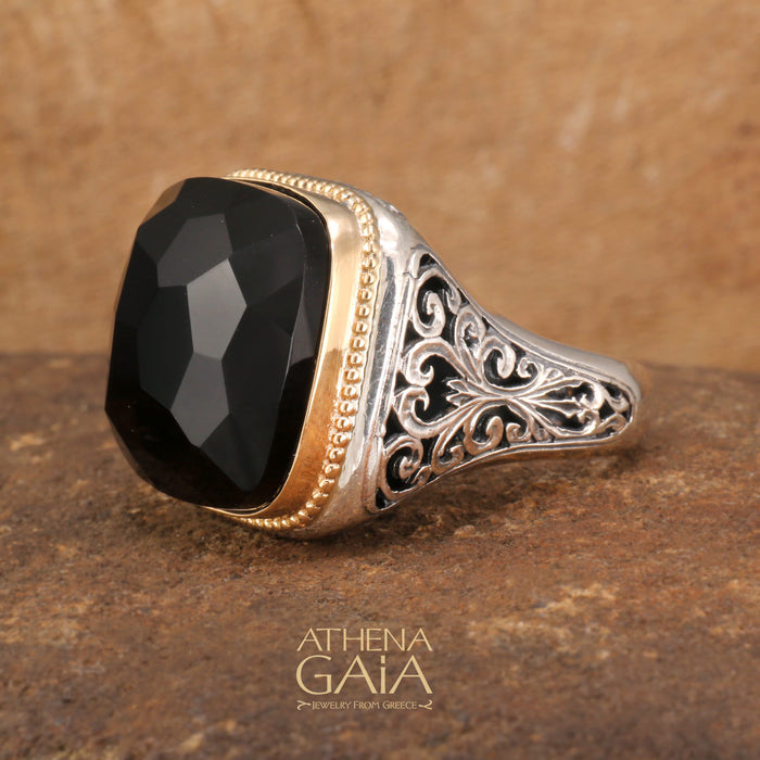 Cushion Top Large Stone Ring