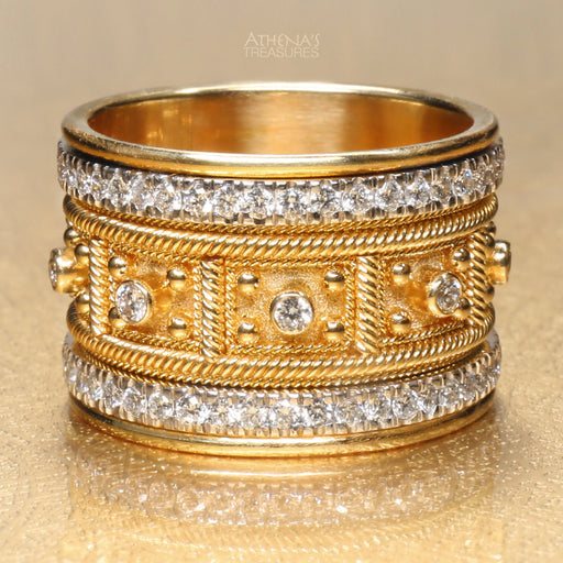 Maya Diamond Block Ring