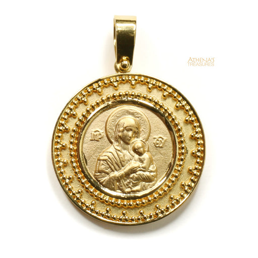 Mother and Child Konstantino Eleni Pendant