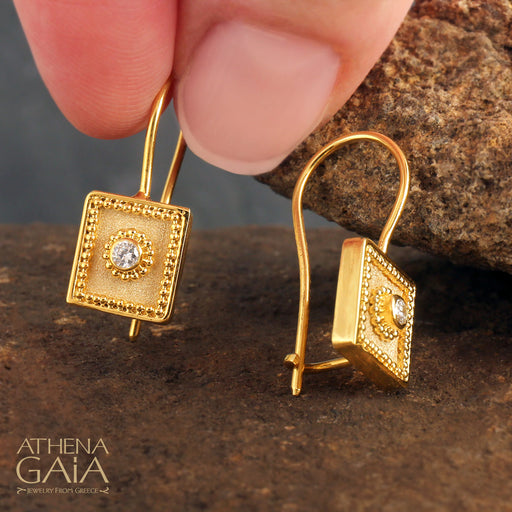 Square Mykonos Earrings
