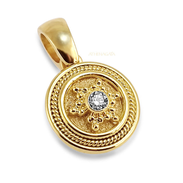 Diamond Navigation Pendant