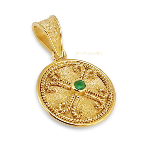 Saint Andrew's Cross Pendant