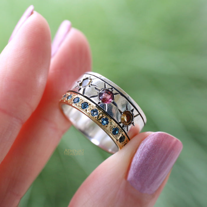 Star Spangled Band Ring