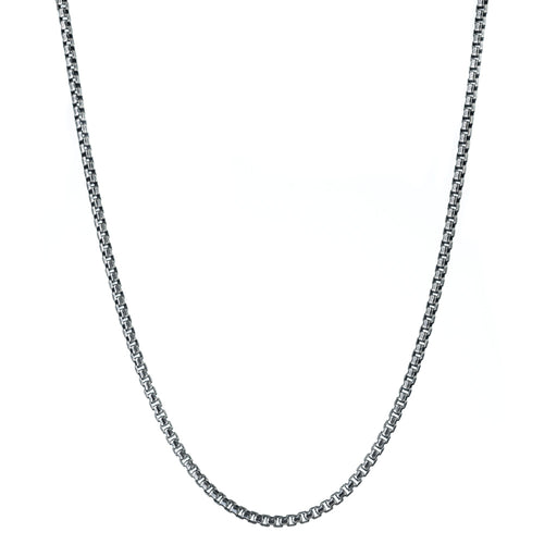 Medium Sterling Silver Box Chain