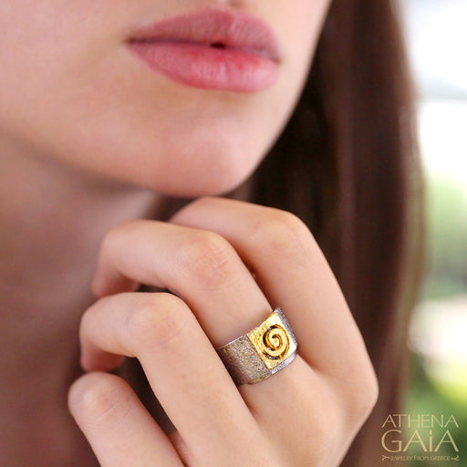 Greek Spiral Ring