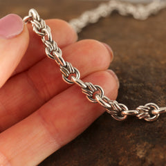 Wrap Link Sterling Silver Chain