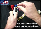 RAE-702 Speedloader Fits SINGLE STACK ONLY Mags 9mm, .357 Magazine Loader