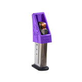 RAE-702 Beretta BU9 Nano 9mm Speedloader Magazine loader Magloader Clip Assist Purple