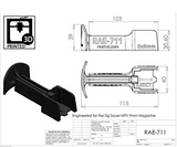 RAE-711 Sig-Sauer MPX Speedloader Magazine Loader, Easy Clip Assist