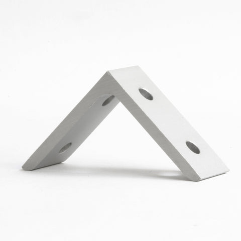 Aluminum 90 Degree Bracket - 4 Hole