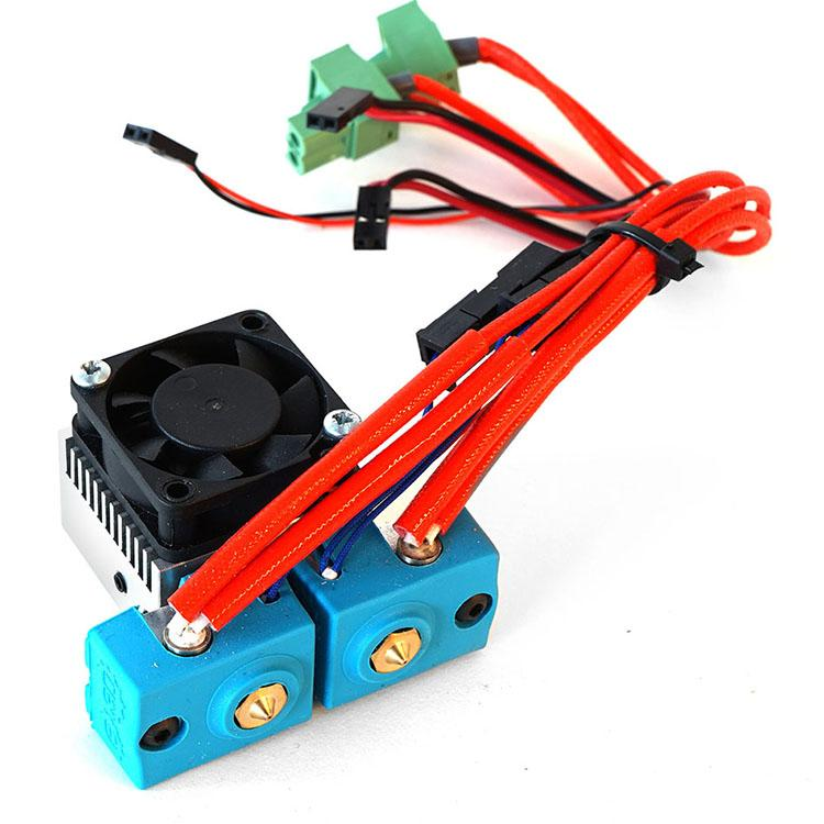 The Dual Extruder gMax 2 3D Printer