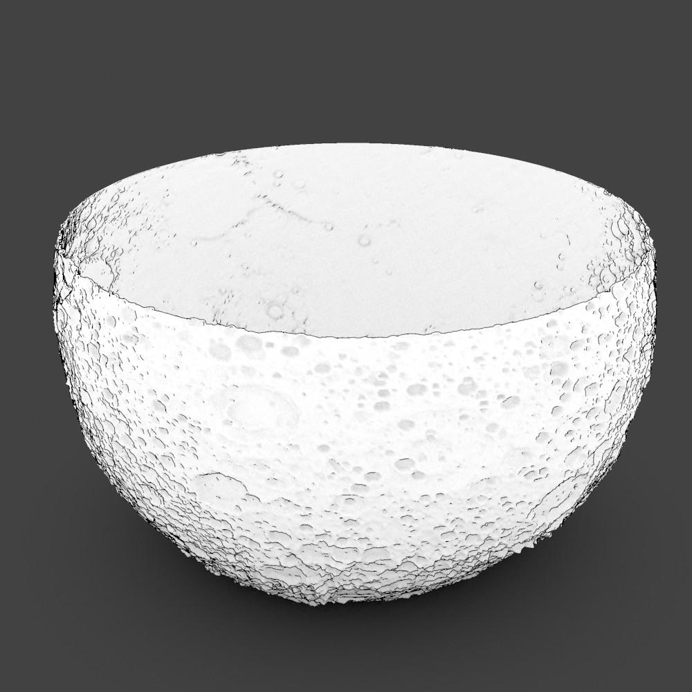 Surface of the Moon Bowl