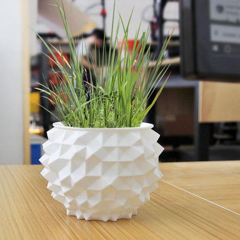 Random Stud Bowl Planter with Large Studs