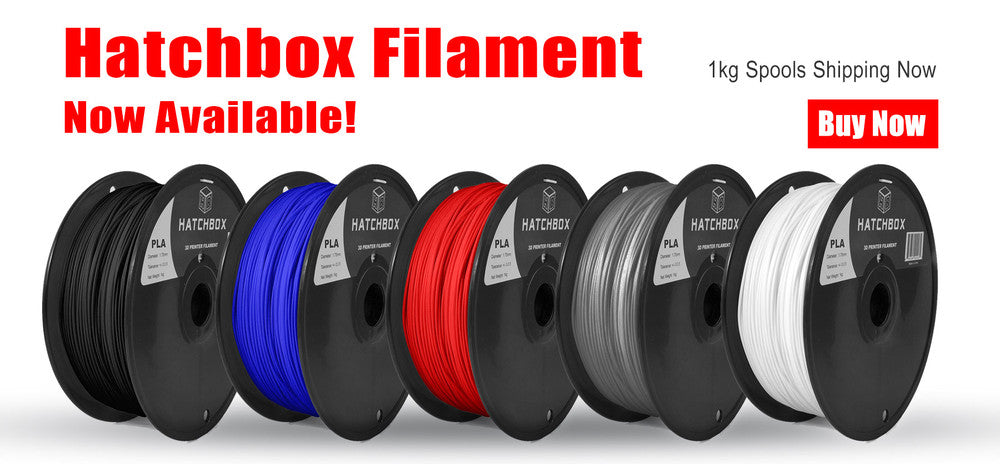 Hatch box Filament - the right 3d printer
