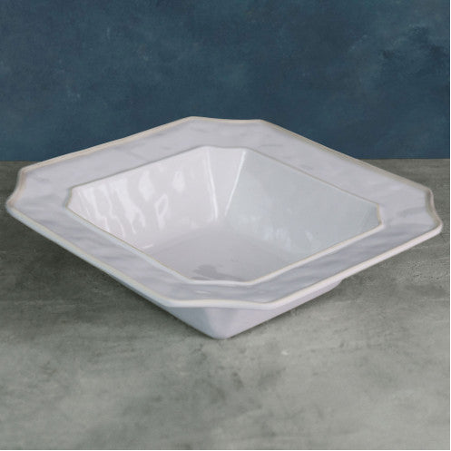 VIDA Charleston Large White Bowl