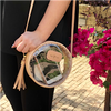 Clear Luna Crossbody Purse