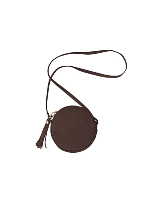 Luna Leather Crossbody Purse