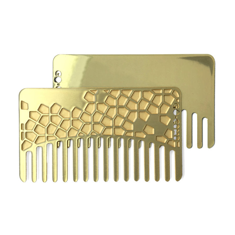 Brass Tile Mirror Comb