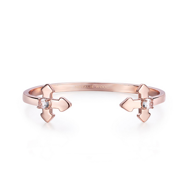Believer Cross Cuff Bracelet
