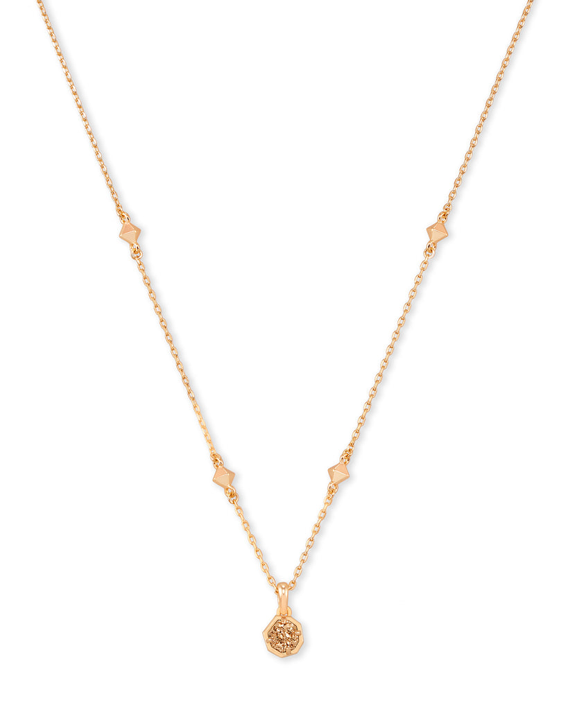 Nola Short Drusy Pendant Necklace