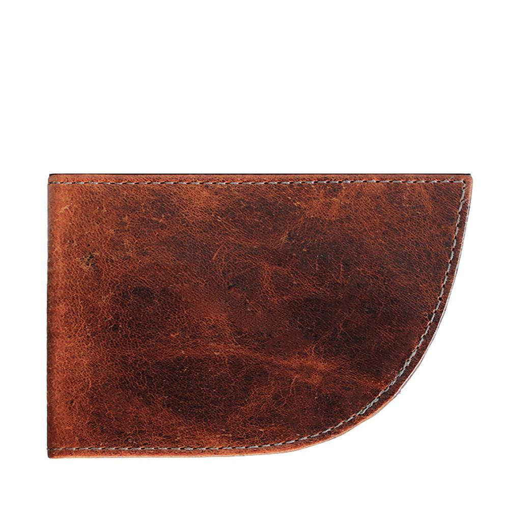 Nantucket Front Pocket Wallet - Moose Brown