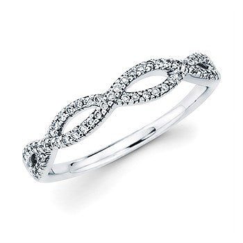 Infinity Diamond Band