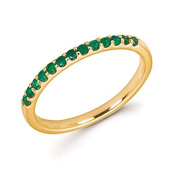 Emerald Birthstone Ring | May