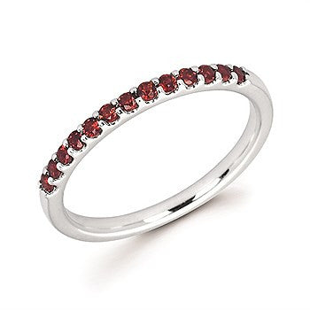 Garnet Birthstone Ring | January