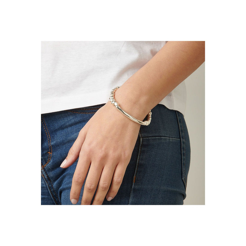 Journey Silver Stretch Bracelet