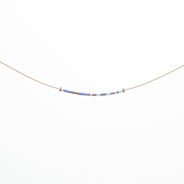 Be Happy | Morse Code Necklace