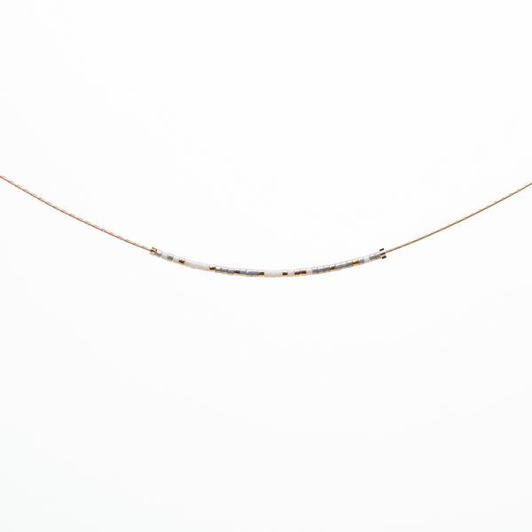 Choose Joy | Morse Code Necklace