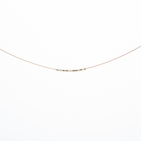 Bestie | Morse Code Necklace