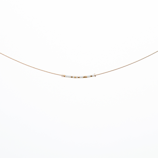 Bride | Morse Code Necklace