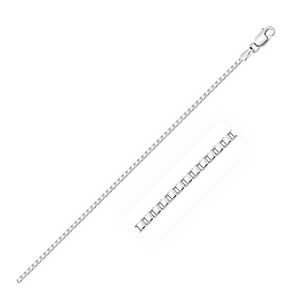 Sterling Silver Box Chain | 14