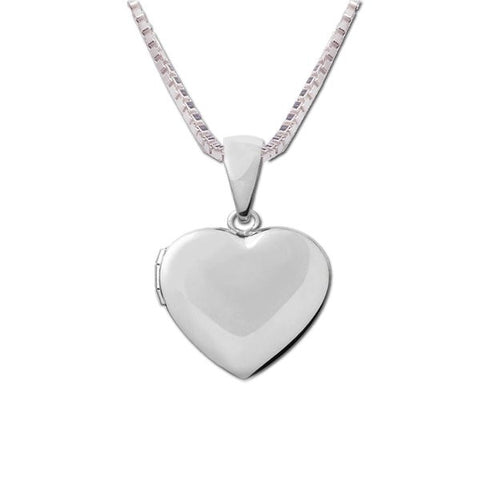 Children's Sterling Silver Heart Locket