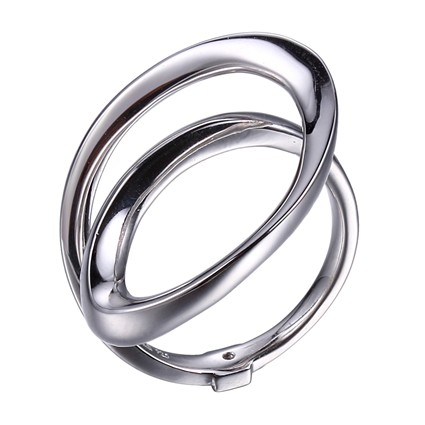 Eternity Sterling Silver Freeform Ring