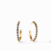 Soho Hoop Earrings in Mixed Metal