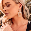 Grace Statement Tassel Earrings