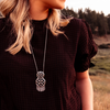 Grace Tassel Pendant Necklace