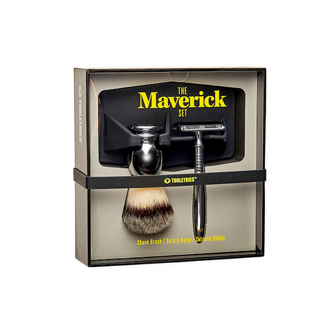 THE MAVERICK SET | Maverick, Razor & Brush