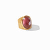 Verona Statement Ring in Iridescent Bordeaux