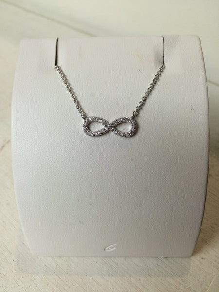 Sterling Silver Inifinty Necklace