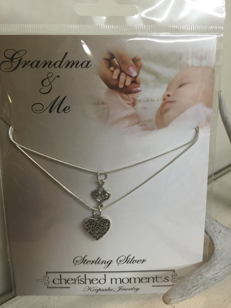 Children's Grandma and Me Necklace