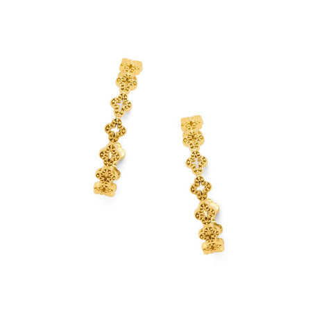 Florentine Hoop Earrings