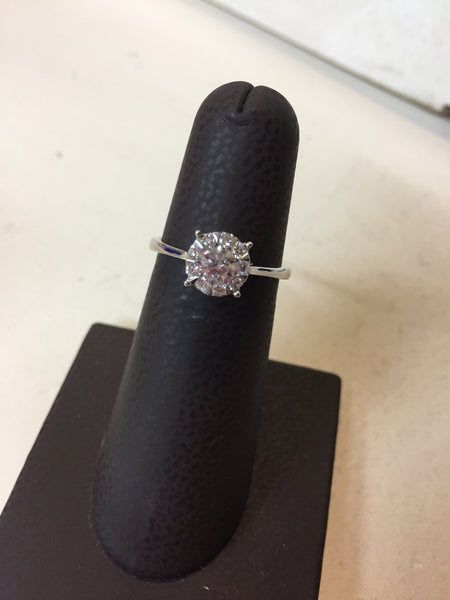Diamond Ring with Halo