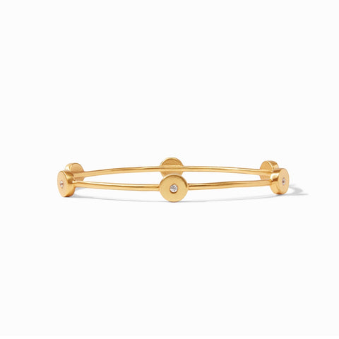 Poppy Bangle in CZ